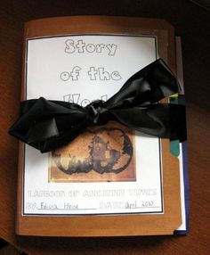 story of the world lapbook and it is free!!! Lots of great stuff that corresponds to CC History!