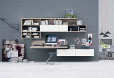 Frassino bianco puro, Frassino canapa Bookshelf | ColombiniCasa
