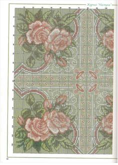Gallery.ru / Фото #2 - розы на зелёную подушку - muha-cc