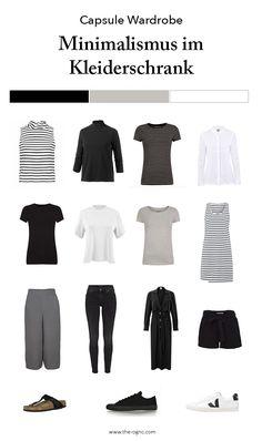 Minimal Wardrobe, Capsule Wardrobe minimal