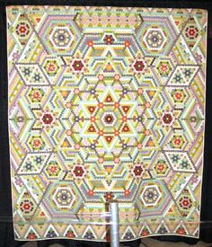 Quilting Daily has the best resources for quilters including quilt patterns, how-to quilt videos, quilting magazines, and more. Hexagon Quilt Pattern, Quilt Patterns, Medallion Quilt, Quilting Designs, Quilt Design, Quilting Ideas, Traditional Quilts, Sewing Art, English Paper Piecing