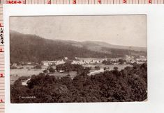 Callander Hill Mountain Trees Forest City View Picture Postcard #65736 | eBay