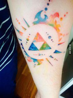 See you like Zelda Tattoos. Here is mine
