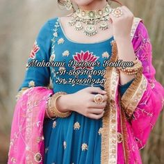₹40000 · ( Punjabi Suit Boutique Latest ) Maharani Designer Boutique offers you a wide range of products. Get ready to find updates every week PRODUCT NAME- ( MDB 15080 Salwar Suit ) PRICE -40000 (Fabric) WORK - Handwork Please click on this link to get more variety: