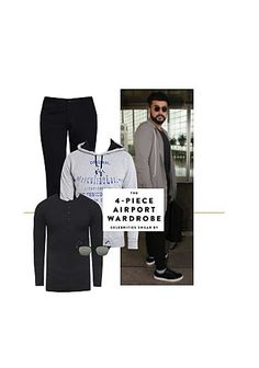Exclusive Look by Sweatshirts Online, Polo T Shirts, Celebrity Look, Modern Outfits, Grey Sweatshirt, Men's Collection, Branded T Shirts, Black Cotton, Fashion Online