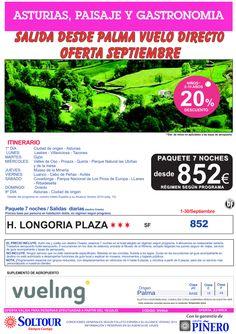 Oferta Asturias, Paisaje y Gatronomía, salidas desde Palma de Mallorca - Septiembre ultimo minuto - http://zocotours.com/oferta-asturias-paisaje-y-gatronomia-salidas-desde-palma-de-mallorca-septiembre-ultimo-minuto/