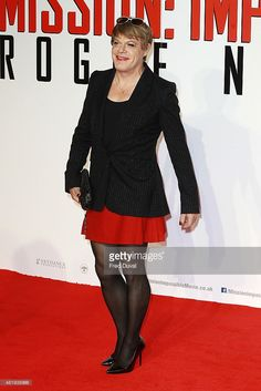 Eddie Izzard attends an exclusive screening of 'Mission Impossible Rogue Nation'at BFI IMAX on July 25, 2015 in London, England.