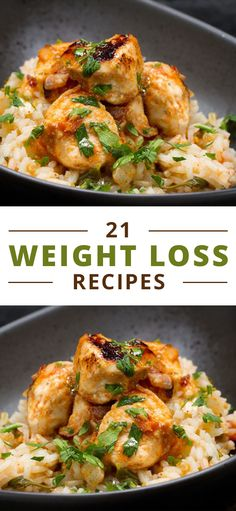 So whichrecipesforweight losswill be on your menu this week? We're sharing21 weight loss recipesthat will help you shed pounds and look...More Weight Loss Meals, Quick Weight Loss Tips, Weight Loss Drinks, Healthy Weight Loss, How To Lose Weight Fast, Reduce Weight, Losing Weight, Weight Gain, Healthy Chicken Recipes For Weight Loss Clean Eating