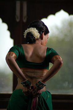 sari maharashtra india by mid night, via Flickr