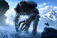 Mechanize Your Desktop with These Robot Wallpapers