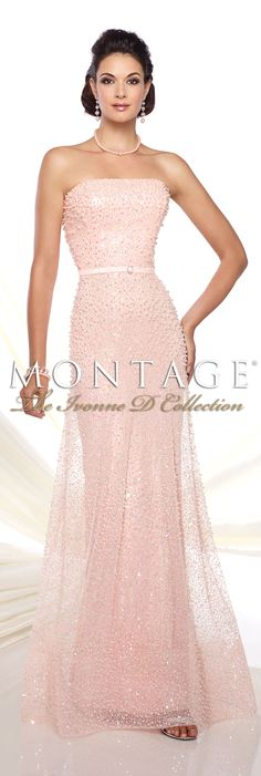 Montage The Ivonne D Collection Spring 2016 - Style No. 116D30 #eveninggowns