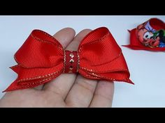 Boutique, How To Make Bows, Diy And Crafts, Crochet, Bow Making, Hair Bows, Youtube, Short Lace Front Wigs, Make Bows