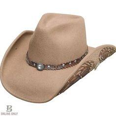 Bullhide Women s Nobody But You Wool Hat Felt Cowboy Hats 5363eeee751c