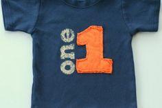 """DIY Birthday shirt; see rocket """" base ball shirt"""" example"""