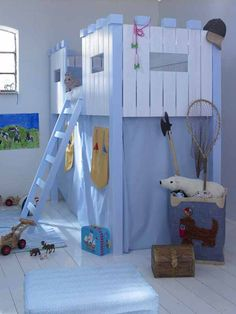 Cool and Playful Kids Bed