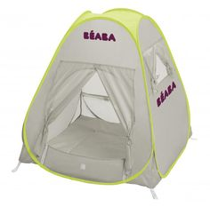 The Beaba Anti-UV tent is perfect for the beach, park or back garden. For infants up to 12 months of age lying down and up to 4 years when seated. SPF50+ | Available at www.moosterbaby.co.uk | #sunshade #outdoor #baby #antiUV #camping