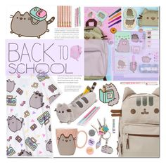 """""""#PVxPusheen"""" by anonymous1612 ❤ liked on Polyvore featuring Pusheen, claire's, Bando, contestentry and PVxPusheen"""