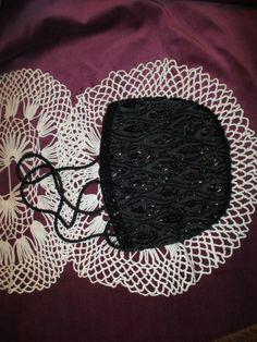 Vintage Black Beaded Purse by BitofHope on Etsy, $28.00
