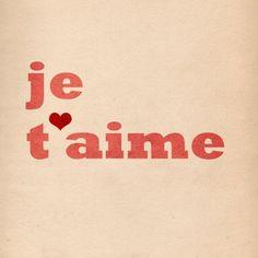 Eu te amo / I Love You / Je T'aime / Ich Liebe Dich