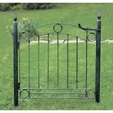 Found it at Wayfair - Country Cottage Wrought Iron Garden Gate