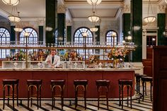 The Ned London is the new hotel and member's club from Soho House founder Nick Jones and features nine restaurants, 252 bedrooms with Twenties and Thirties designs, men's grooming services and a members' club. It's simply extraordinary