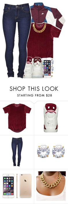 """""""love"""" by yeauxbriana ❤ liked on Polyvore featuring Dr. Denim and NIKE"""