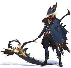 ArtStation - Character design, Xi Li
