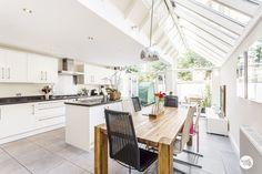skylights in kitchen!