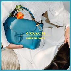 THE COACH ORIGINALS | NATALIE LIM SUAREZ Natalie Off Duty, Coach Bags, Fashion Backpack, Color Pop, Combat Boots, Product Launch, The Originals, Coach Handbags, Coach Purse