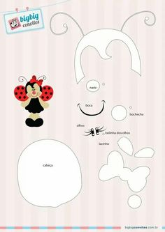 fensterbilder frühling vorlagen - Татьянин День Открытки Foam Crafts, Diy And Crafts, Crafts For Kids, Paper Crafts, Paper Piecing Patterns, Felt Patterns, Pot A Crayon, Ladybug Crafts, Felt Quiet Books