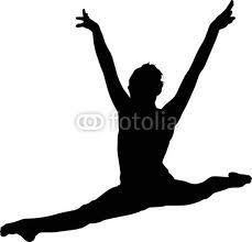 Silhouette On Pinterest Gymnastics Gymnasts And Gymnastics Girls