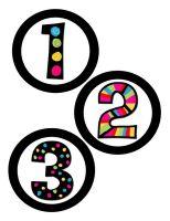 Math tub numbers