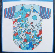 Babyboy  Wenskaart + envelop