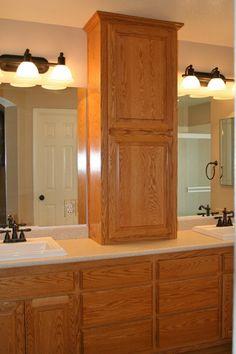 Creative Bathroom Storage Ideas Countertop