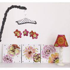 Cotton Tale Designs Tula 5 Piece Nursery Décor Set - TUDK