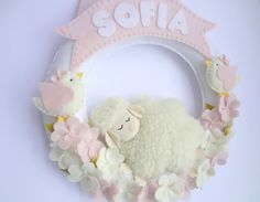 Baby Crafts, Crafts For Kids, Baby Bouquet, Baby Decor, Kids Gifts, Homemade Cards, Baby Items, Sheep, Baby Kids