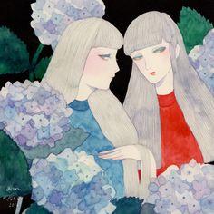 "klngtm: "" early summer 2016 #1 |Hydrangea """