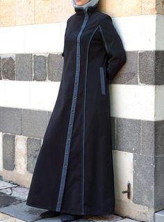Yusra Jilbab Churidhar Designs, Abaya Designs, Islamic Fashion, Muslim Fashion, Niqab Fashion, Fashion Outfits, Hijab Fashion Inspiration, Muslim Dress, Mode Hijab