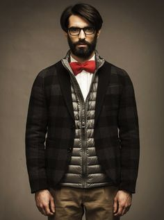 Men's Style Inspiration- Layer Up for Fall/Winter 2013 #fall #layers #flannel