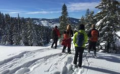 Idaho Parks and Recreation offers 60 miles of Nordic trails from four parking lots northeast of Idaho City.