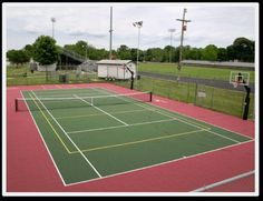 The International Tennis Federation (ITF) has rated modular tennis court tile as a medium/fast speed playing surface.