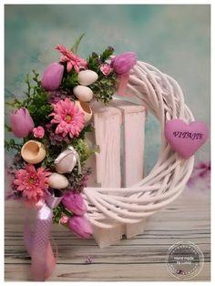 Skupina - Jar a veľkonočné inšpirácie Vence, Bude, Grapevine Wreath, Grape Vines, Wreaths, Home Decor, Decoration Home, Door Wreaths, Room Decor