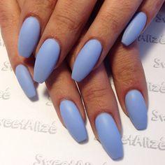 Zoom · Matte on acrylic nails for @omglizz89  Used: Essie's Bikini So Teeny
