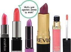 Check out our contributors' signature summer lip shades over on the OTY blog