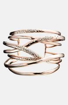 OMG, want, need, love!! Alexis Bittar 'Miss Havisham' Large Layered Cuff | Nordstrom
