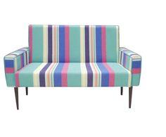 Poltrona vó rosa colorful large stripes - 2 lugares | Westwing - Casa & Decoração