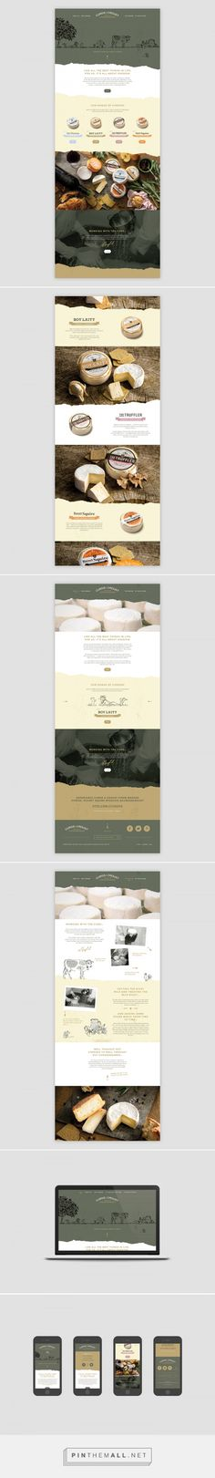 Curds & Croust Web Design by Friends Studio | Fivestar Branding Agency – Design and Branding Agency & Curated Inspiration Gallery  #web #webdesign #website #websitedesign #design #designinspiration