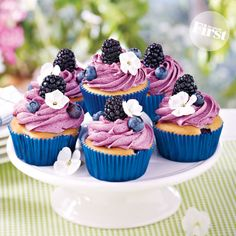 Pretty Purple Cupcake Treasures | First for Women