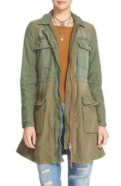 59d790a985dd6 FREE PEOPLE Colorblock Military Jacket.  freepeople  cloth   Free People  Jacket
