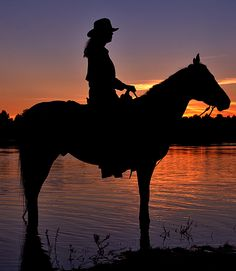 nothing is purer than the bond between a cowgirl and her horse.